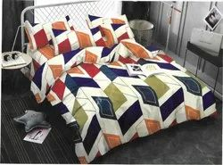 Designer China And Glace Cotton Bedsheets
