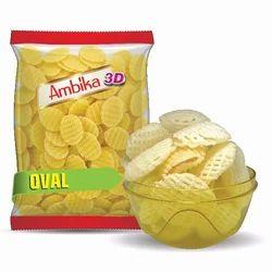 3D Oval Shape Frymus
