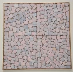 Marble Pebble Mosaic, Size: 300 x 300 mm