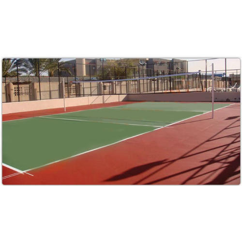 Outdoor Volleyball Court Flooring, Dimension: 18 X 9 M, Rs ...