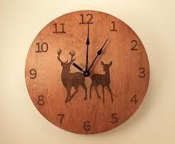 Round MDF Wall Clocks