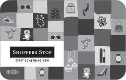 Rectangular Black SHOPPERS STOP GIFT CARD, Packaging Type: Individual