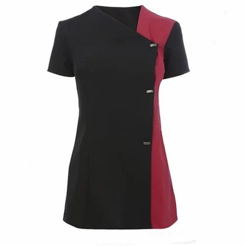 Cotton beauty spa salon uniforms rs 700 piece d 39 vorva for Spa uniform cotton