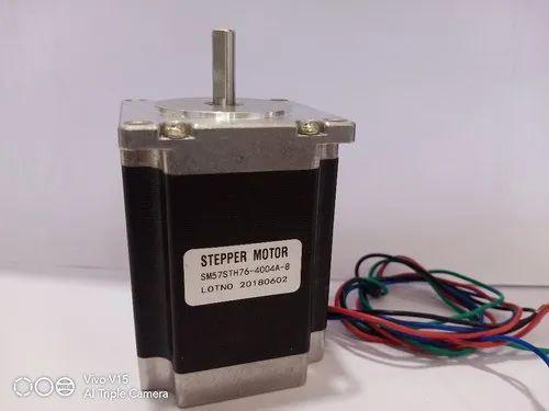 DC 50V 2 Phase Stepper Motor, Step Angle: 1.8 Degree, Model Number/Name: Nema 17
