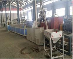 PP/PE WPC Profile Making Extrusion Machine