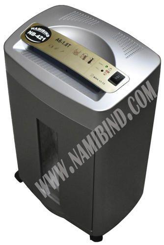 Durable paper shredder
