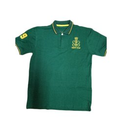 Green ARK Mens Polo T Shirt, Size: L, Packaging Type: Packet
