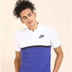 Nike Mens Plain Collar T-Shirt
