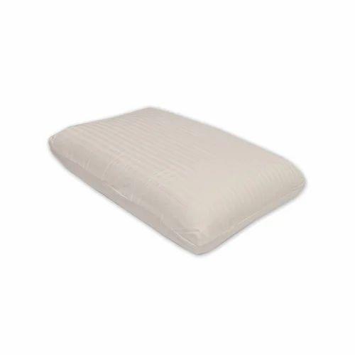 White Premium Natural Latex Foam Pillow Rs 850 Piece J J Foam