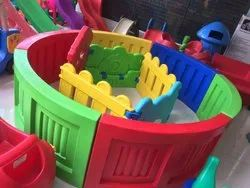 Playschool Kids Multicolored Ball Pool With Slide And Balls