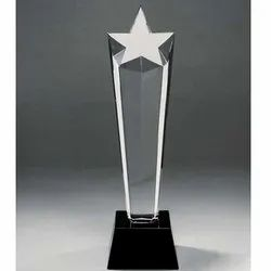 Star Crystal Glass Trophies