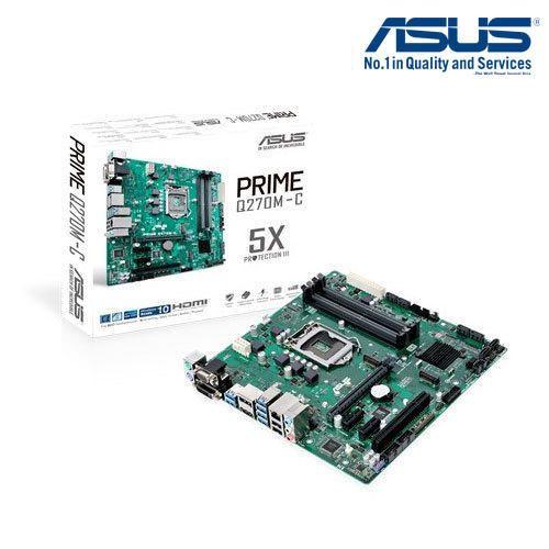 Asus Prime Q270m C/csm Desktop Motherboard