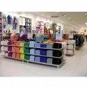 Glass Garment Wall Shelves