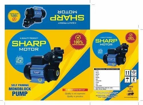 Sharp Self Priming Monoblock Pump