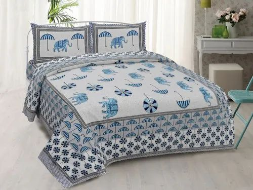 King Size Pure Cotton Bed Sheets