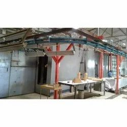 Conveyor Type Painting Booth and Oven