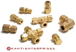 KE Brass Ferrule Fittings, Size: 1/2 inch and 1 inch