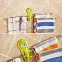 Stainless Steel Towel/Socks Hanger (811-22)