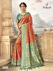 Shakunt Vedantika Silk Zari Work Traditional Wear Saree