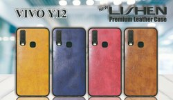 Lishen Leather Vivo Y-12 Mobile Cover for Personal & Business
