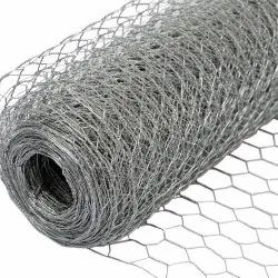 SS Hexagonal Wire Netting, For Industrial, Material Grade: SS304