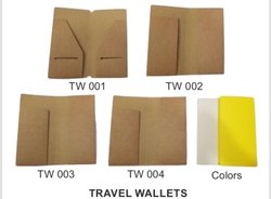 Eco-Friendly Travel Wallet, Size: 4,5 x 9 inch