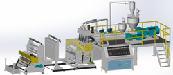 CPP Extrusion Casting Film Machine