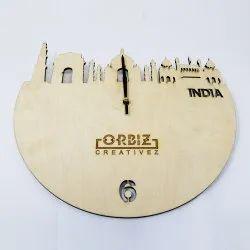 Acrylic Analogue Historical Custom Premium Clock, Model Name/Number: OCP103