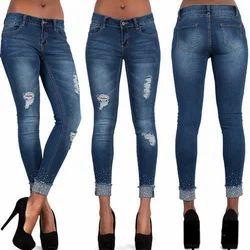 Blue Wings Ladies Rugged Jeans