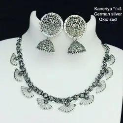 Siliver Oxidized Jewellery