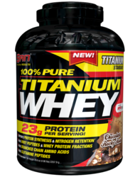 Chocolate San Titanium Whey Protein, Packaging Type: Plastic Container