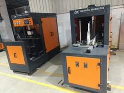 120 BPH 1 cavity Semi Automatic Stretch Jar Blowing Machine