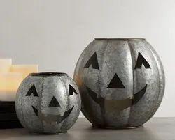 Silver Halloween Decorative Items
