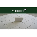 Cement Roof Tiles White Feet