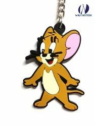 Wah Notion PVC Keyring Tom and Jerry Chains For Kids Birthday Party Return Gift