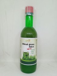 Wheat Grass Juice with Honey, Tulsi, Giloy