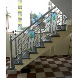 Designer SS Glass Railing