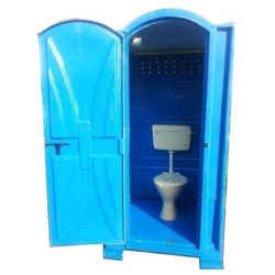 One Seater FRP Toilet Cabin