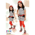 Kids Girls Kids Trendy Capri With Top
