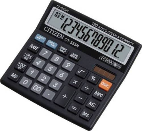 citizen 555n check and correct calculator citizen original