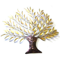 Iron Tree Wall Art