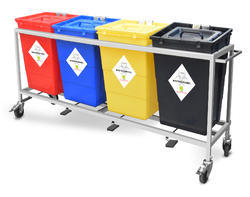 Hospital Waste Collection Trolley