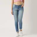 Womens Blue Denim Jeans