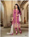 Pink Casual Wear Chanderi Cotton Salwar Kameez-sparxz29