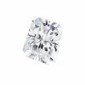 Near White Radiant Cut DEF Moissanite Diamond