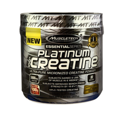 Powder MuscleTech Essential Series Platinum 100% Creatine, Packaging Size: 402 G