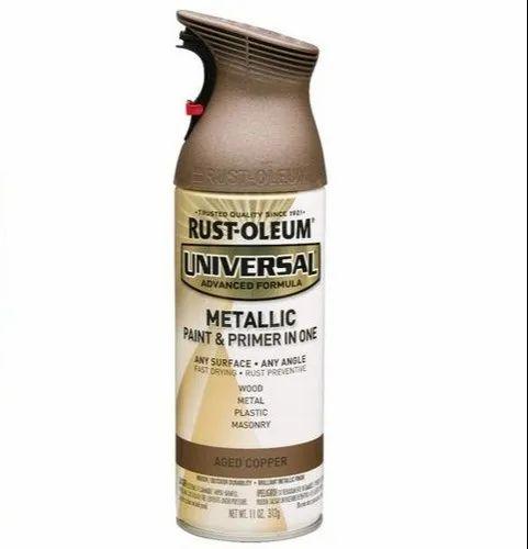 Rust Oleum Universal Metallic Spray Paint, for Decorative ...
