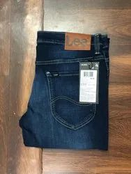 Denim Faded Mens Stretchable Jeans