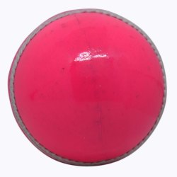 KC Pink Leather Cricket Ball
