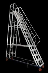 Aluminium Industrial Ladder